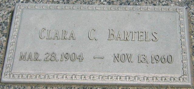 Clara C <i>Endorf</i> Bartels