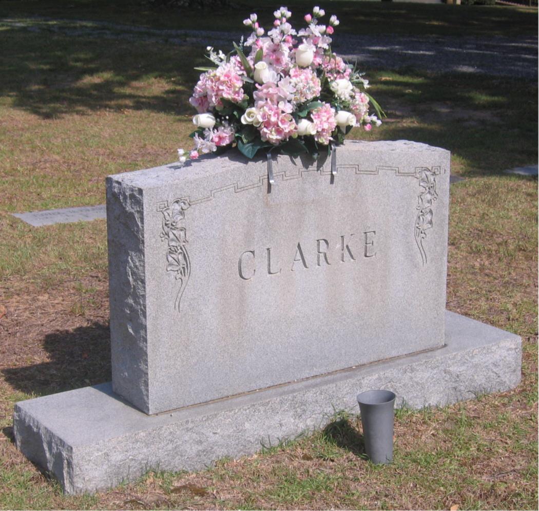 Ethel B <i>Braswell</i> Clarke