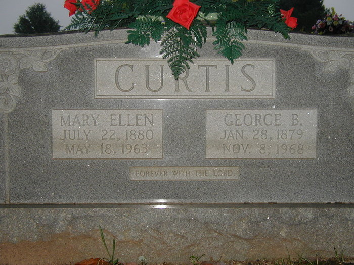 Mary Ellen <i>Parker</i> Curtis