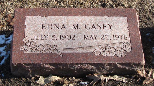 Edna M Casey