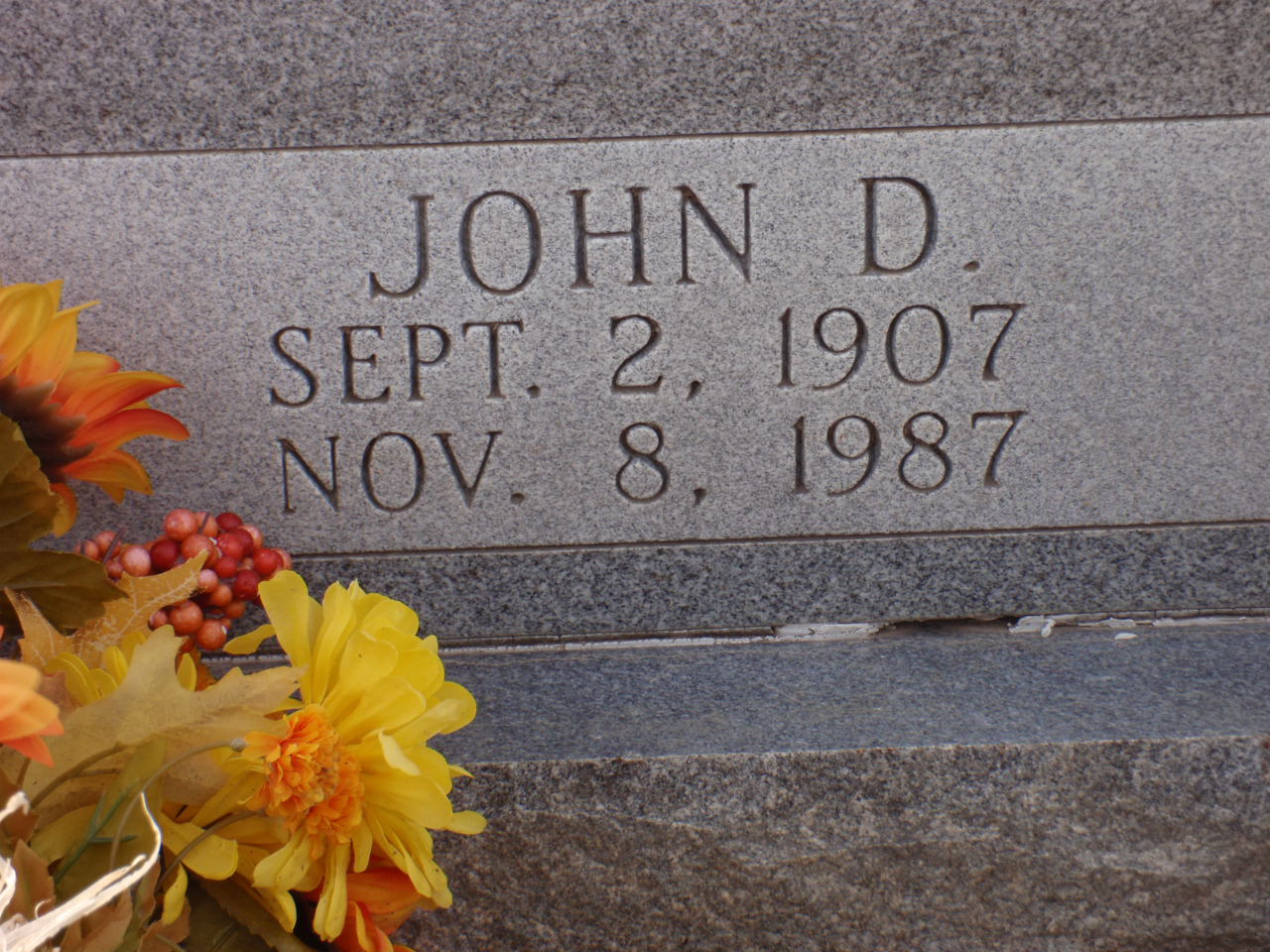 John D Alley