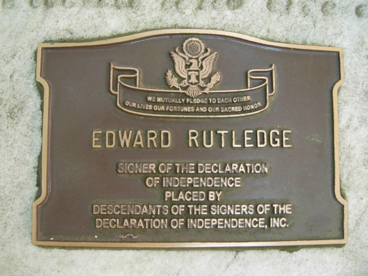 Edward rutledge 1749 1800 find a grave memorial view original publicscrutiny Image collections