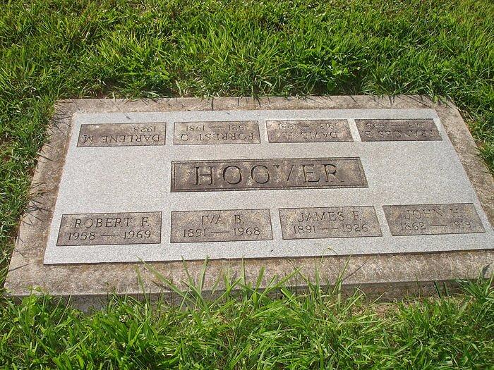 Frances Elizabeth <i>Moore</i> Hoover