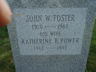 Katherine B <i>Power</i> Foster