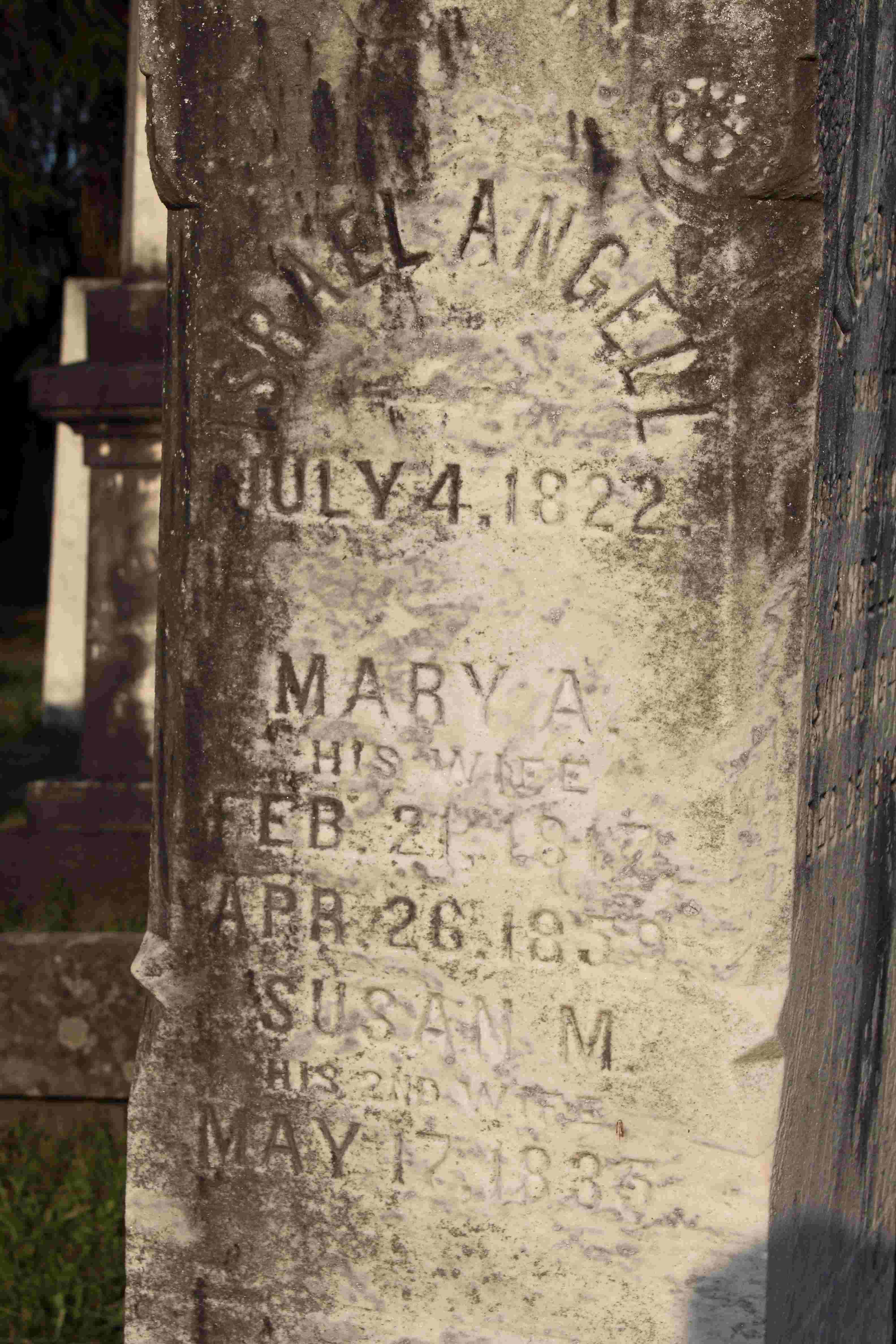 Mary Ann <i>Meade</i> Angell