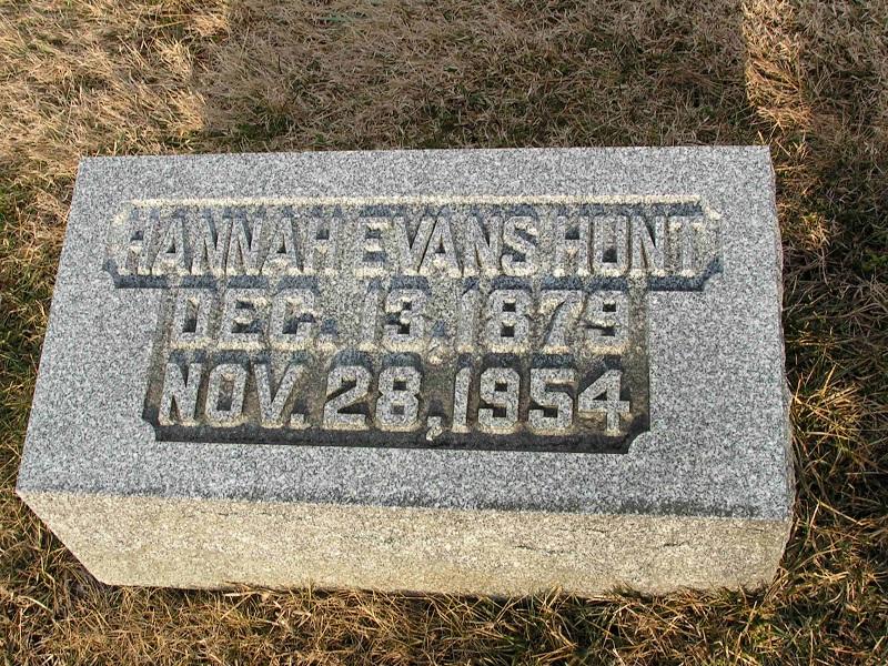 Hannah <i>Evans</i> Hunt
