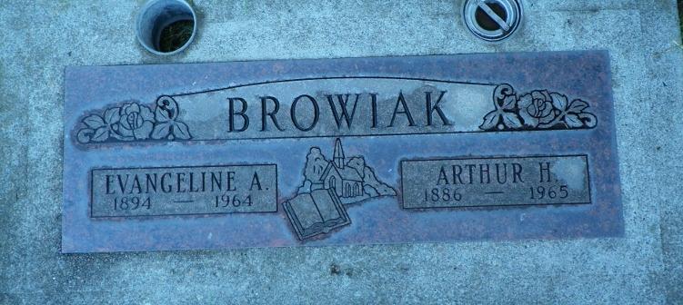 Evangeline A. <i>Carlson</i> Browiak