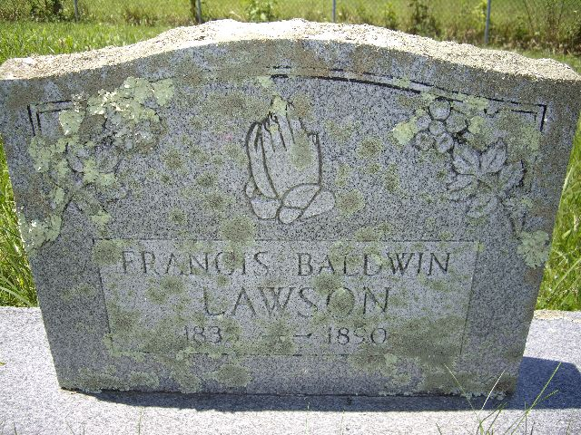 Francis Baldwin Lawson