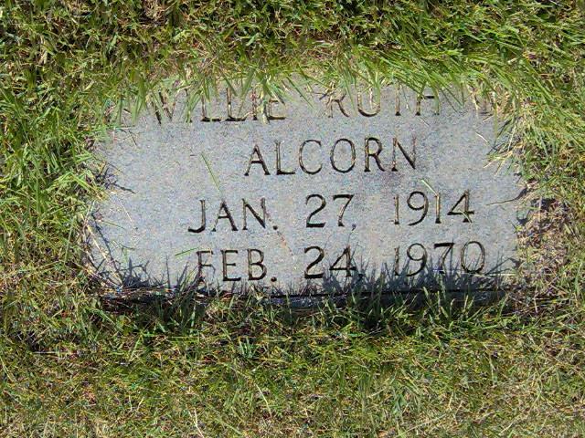 Willie Ruth <i>Mabe</i> Alcorn