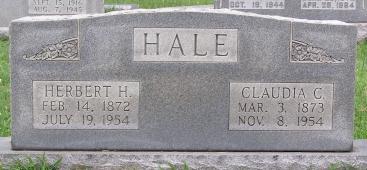 Claudia Castlen <i>Roberts</i> Hale
