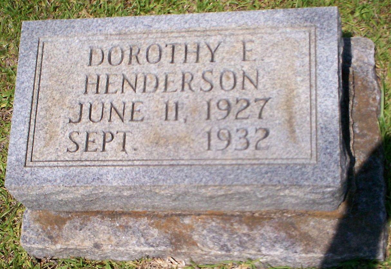 Dorothy E Henderson