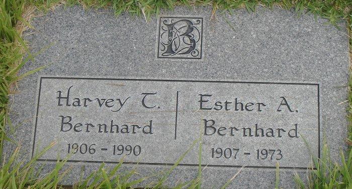 Esther A <i>Cummings</i> Bernhard