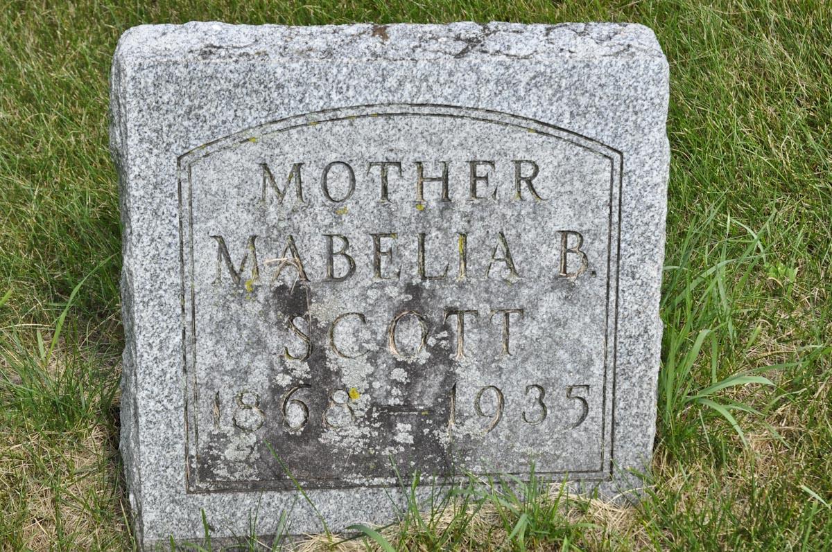 Mabelia Bathsheba <i>Warner</i> Scott