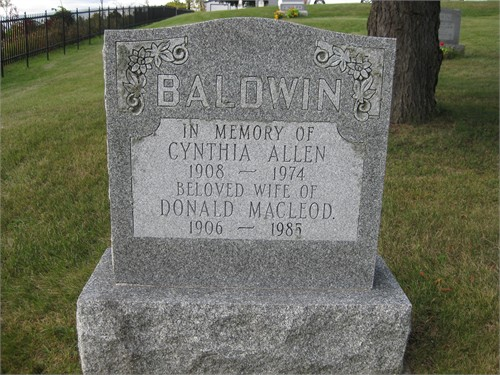 Donald MacLeod Baldwin