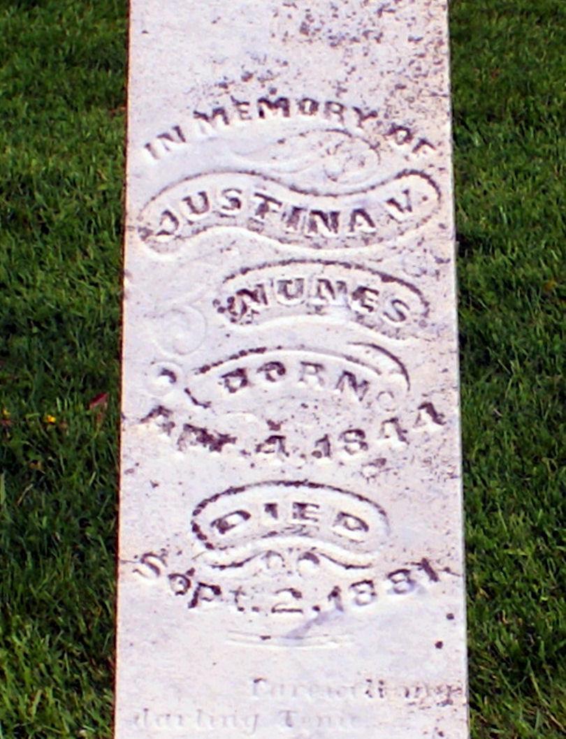 Justina V. Mumes