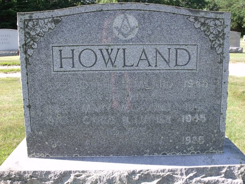 Mary Wight <i>Young</i> Howland
