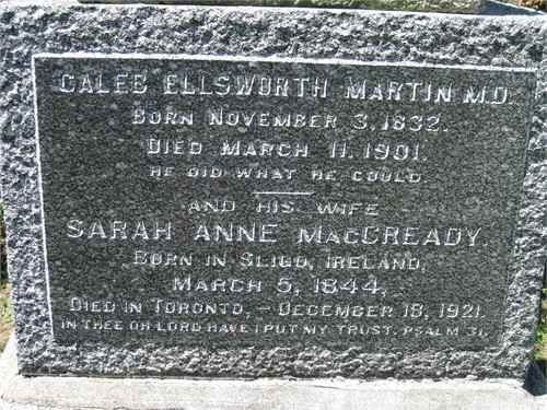 Dr Caleb Ellsworth Martin