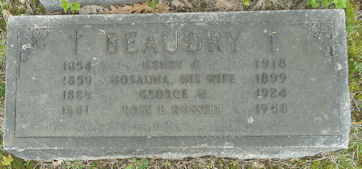 Rose B <i>Russell</i> Beaudry