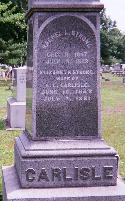 Elizabeth <i>Strong</i> Carlisle