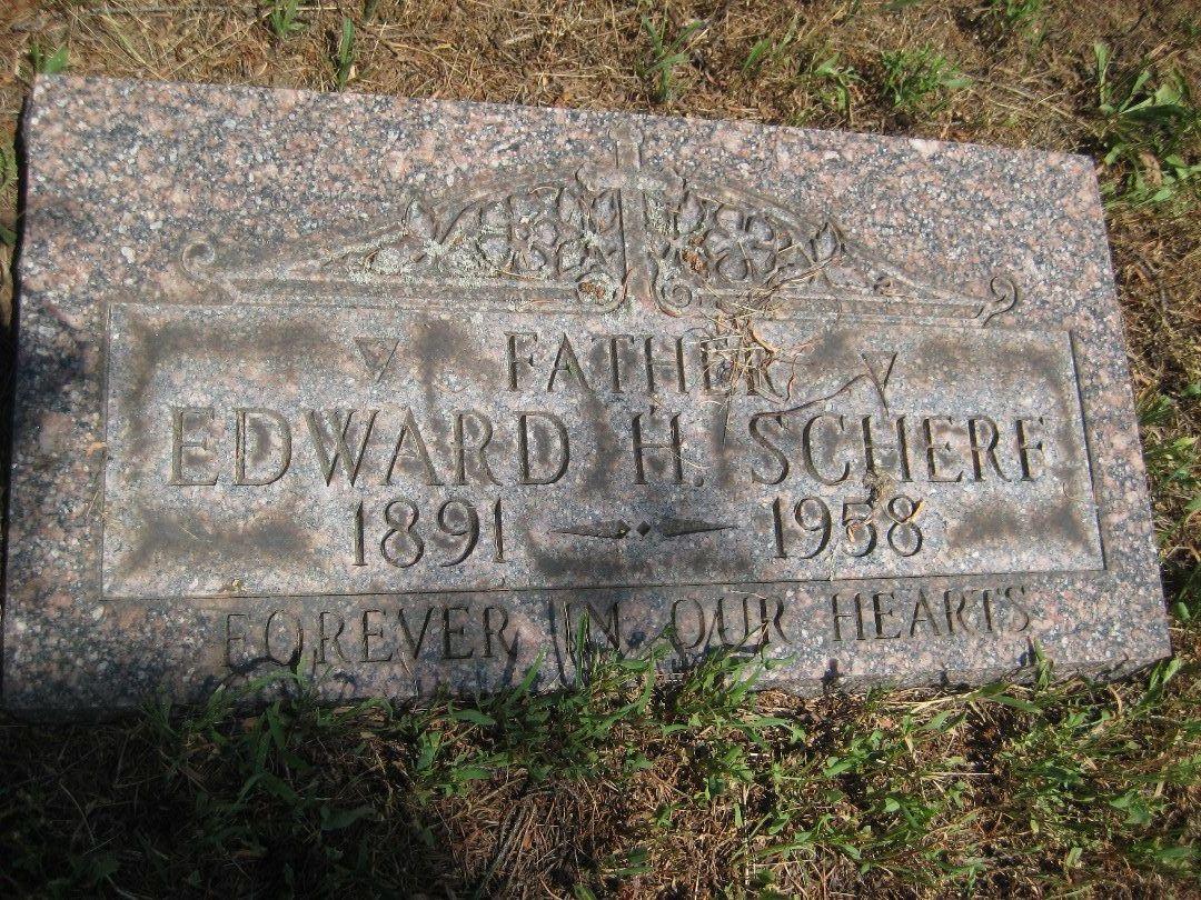 Edward H Scherf