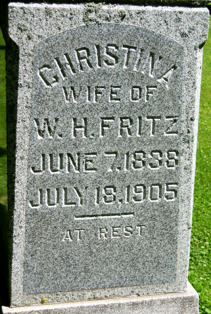 Christina <i>Richmond</i> Fritz