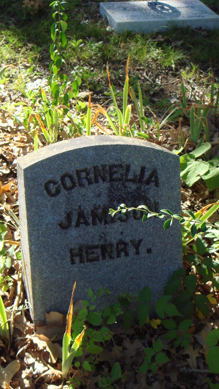 Cornelia <i>Jamison</i> Henry
