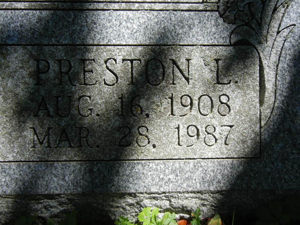 Preston Leroy Bentzel