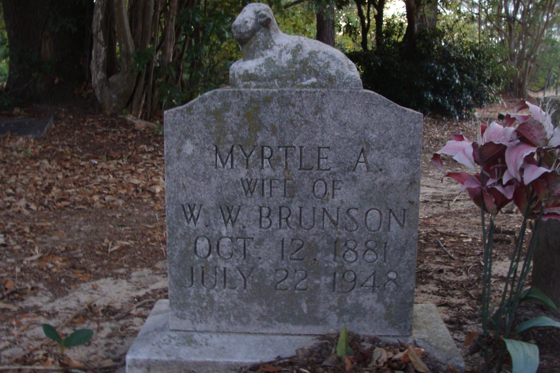 Myrtle Alice <i>Wims</i> Brunson