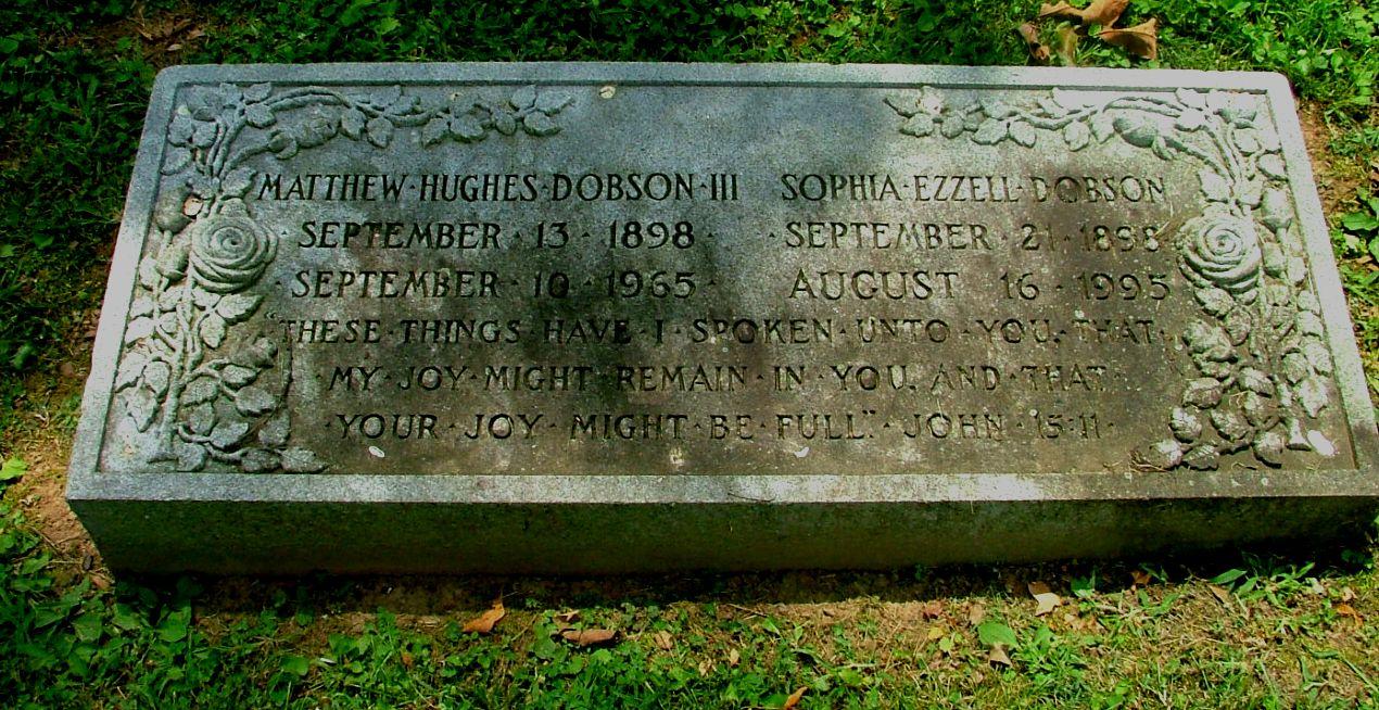 Sophia Eleanor <i>Ezzell</i> Dobson