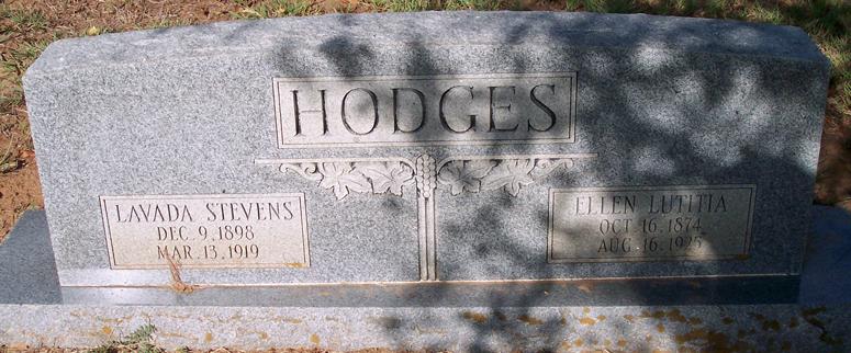 Lavada <i>Hodges</i> Stevens