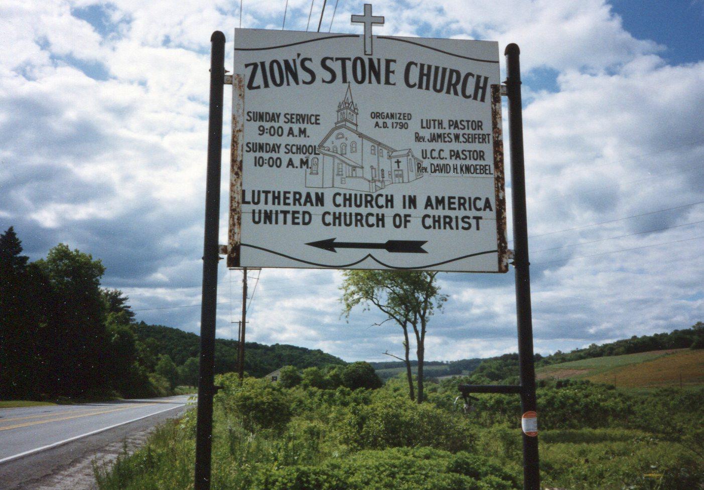 Zion Stone Church Cemetery