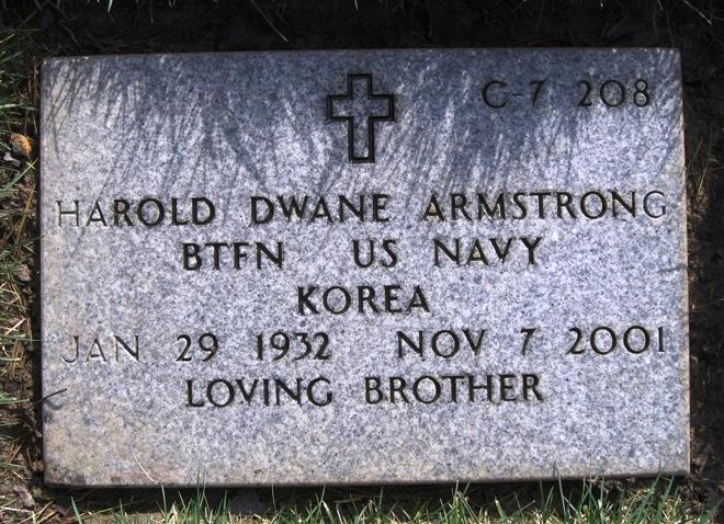 Harold Dwane Armstrong