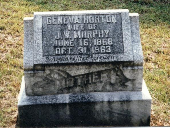 Geneva Jenny <i>Horton</i> Murphy