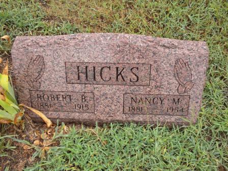 Nancy Martha <i>Ellison</i> Hicks