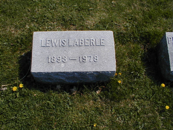 Dr Lewis Irving Aberle