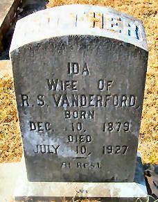 Margaret Ida <i>Backstrom</i> Vanderford