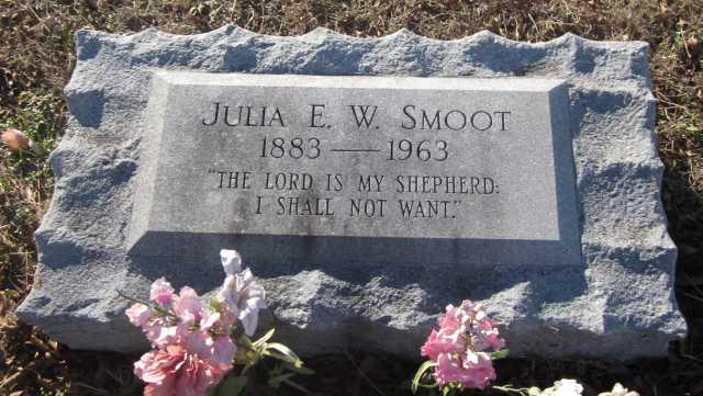 Julia Emma <i>Williams</i> Smoot