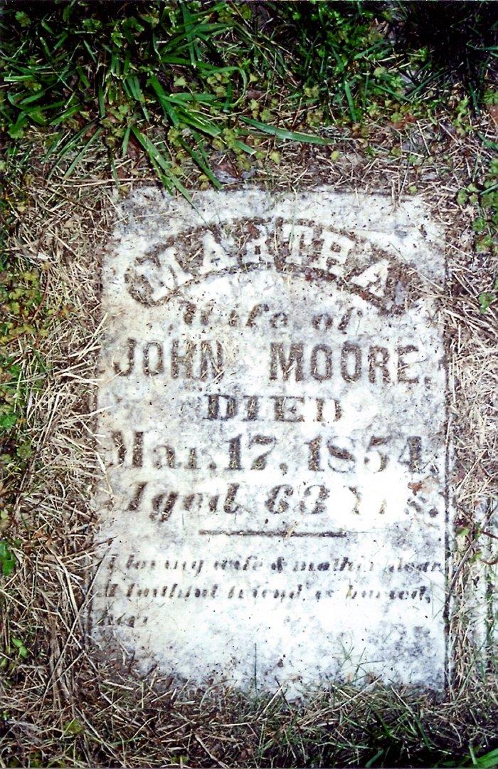 Martha Patsy <i>Bayne</i> Moore