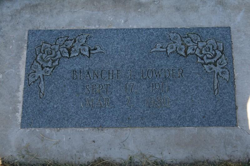 Blanche <i>Trimble</i> Lowder