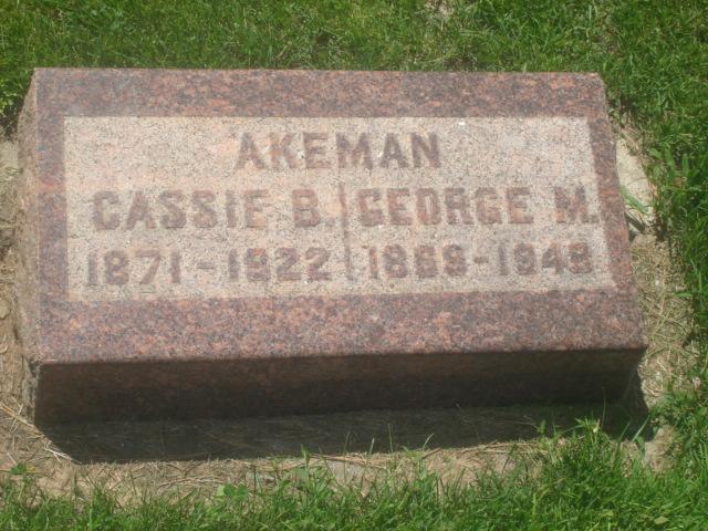 George McBride Akeman