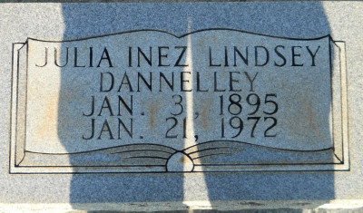Julia Inez <i>Andrews</i> Dannelley