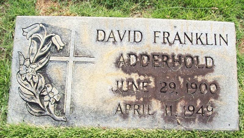 David Franklin Adderhold