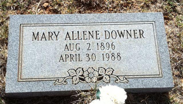 Mary Allene Downer