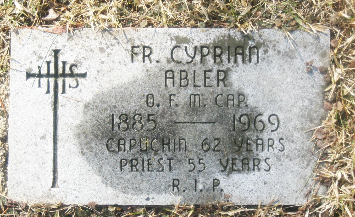 Fr Cyprian Abler