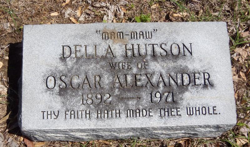 Della <i>Hutson</i> Alexander