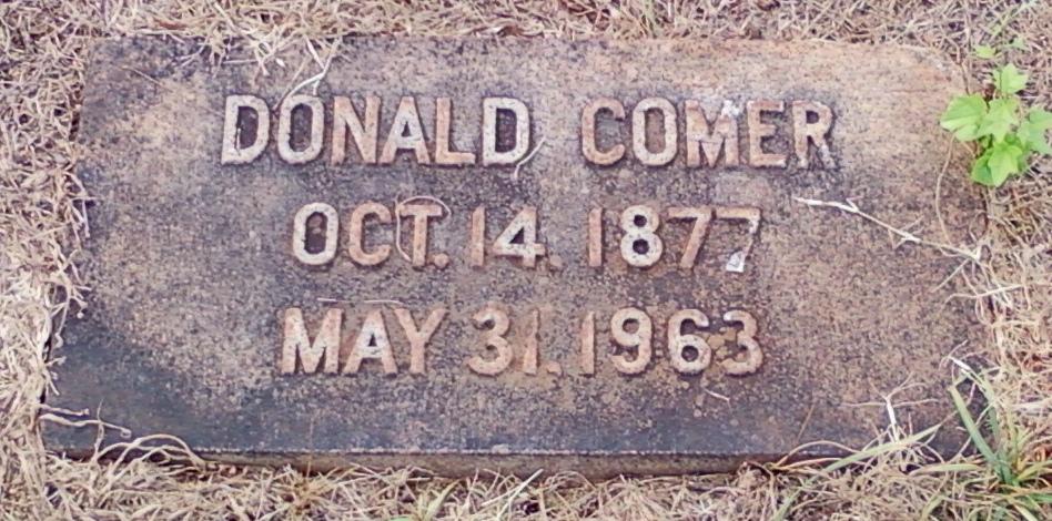 James McDonald Donald Comer