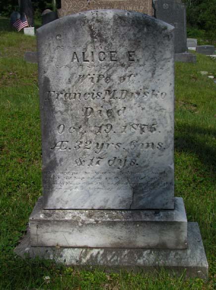 Alice Evelina <i>Wass</i> Drisko
