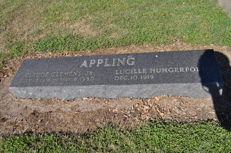 Lucille <i>Hungerford</i> Appling