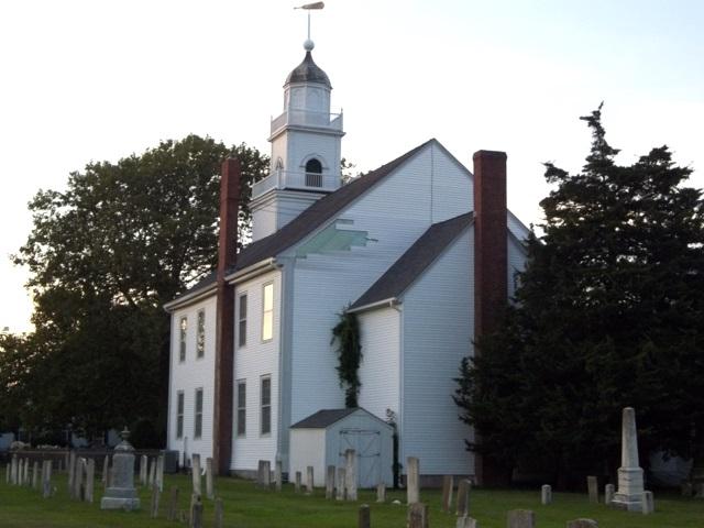 Old Burying Ground of First Presbyterian Church