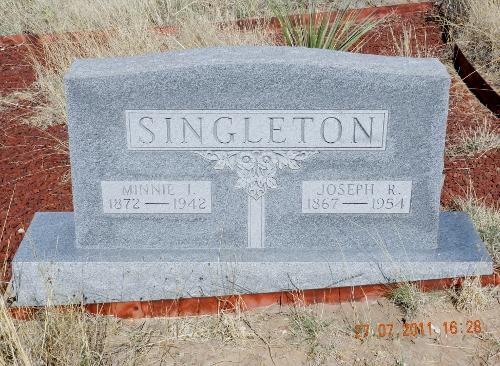 Minnie Irene <i>Boykin</i> Singleton